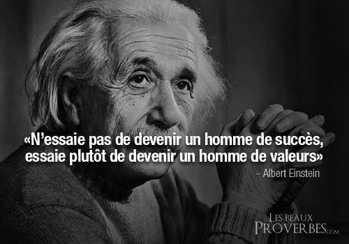einstein-valeurs
